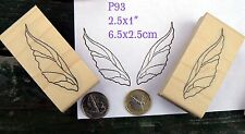 P93 Fairy wings  rubber stamps wm