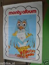 STAMP ALBUM MONTY DE FABELTJESKRAND DE UIL,1985, DE WOLF