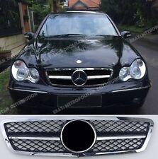 Mercedes C class,w203 AMG sport look grill,C320 C55 C180 C200 C220 C230 C270 CDI