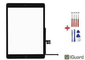 iPad 7. Gen. 2019 A2197 A2198 A2200 Touchscreen Display Glas Digitizer - SCHWARZ