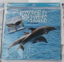 Traditionnel Calendrier 2018 nouvel an carré mois Civil Vue Baleines & Dauphins