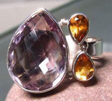 Topaz Handmade Amethyst Fine Rings
