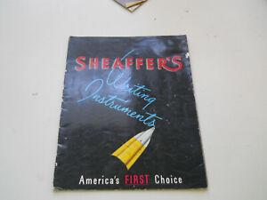 Sheaffer Vintage l951 Full Line catalog--30 pages