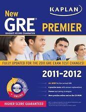 New GRE 2011-2012 Premier with CD-ROM (Kaplan GRE), Kaplan, 1607148498, Book, Ve