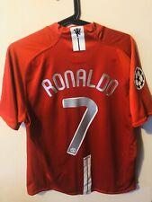 Ronaldo - Manchester United Home - 2008 - Champions League - Nike - Medium