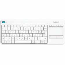 Logitech K400 Plus Wireless Living Room Keyboard with TouchPad for Home Theatre