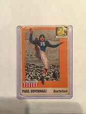 1955 Topps - All American #73 Paul Governali