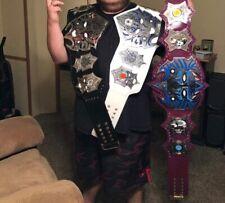 Jeff Hardy TNA IMMORTAL HEAVYWEIGHT WRESTLING CHAMPION TITLE BELTs