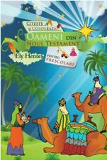 Romanian childrens book, People of the New Testament, with coloring pictures