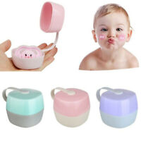 Baby Dummy Soother Container Infant Pacifier Holder Case Storage Box Portable