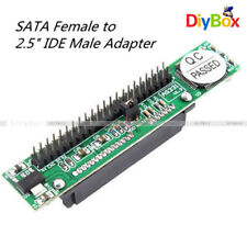 "7+15 Pin Female SATA TO 2.5"" Male 44Pin IDE Adapter Converter For Laptop PC"