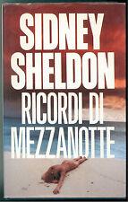 SHELDON SIDNEY RICORDI DI MEZZANOTTE EUROCLUB 1990 GIALLLI THRILLER