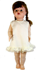 "Cream Vintage styled A-Line Slip for Saucy Walker, Thumbelina, 20"" to 24"" Dolls"