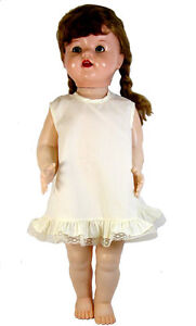 """Cream  A-Line Slip and Panty Set for Saucy Walker, Thumbelina, 20"""" to 24"""" Dolls"""
