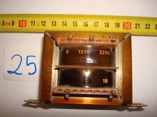TRANSFORMER 125V 220V / 1A 18V. R25-A35.