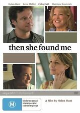 Then She Found Me (DVD, 2012)