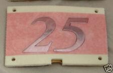 ROVER 25 REAR BADGE, CHROME FINISH, (DAH100960MMM)