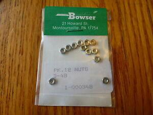 Bowser Parts #348 / PK.12 / NUTS  3-48