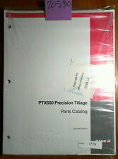 Case PTX600 Precision Tillage System Parts Catalog Manual Sas NWC-005V4