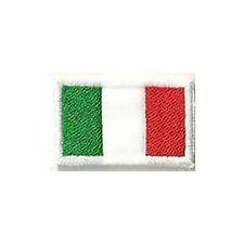 [Patch] BANDIERA ITALIA cm 4 x 2 toppa ricamata ricamo ITALY -081