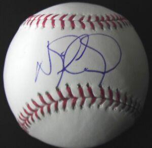 Nick Castellanos Cincinnati Reds Detroit Tigers Signed Baseball JSA
