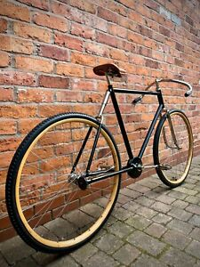 Pierce Shaft Drive Cushioner Frame Wood Rimmed Bicycle. Antique 1904