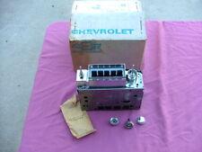 1967 Chevy Impala push-button transistor AM radio, NOS! 986846 Caprice Bel Air
