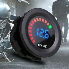 Car Motorcycle LED Panel Digital Voltage Socket Meter Display Voltmeter DC 12V Z