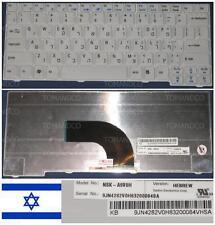 Qwerty Keyboard Hebrew ACER ASPIRE AS2920 NSK-A9V0H 9J.N4282.V0H KB.INT00.219