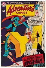 ADVENTURE COMICS #382 (VG/FN) SUPERGIRL! SUPERMAN! Fortress of Solitude! DC 1969