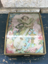 New ListingVia Vermont Music Box, artwork 1993 Thomas Cathey collection, music Angel