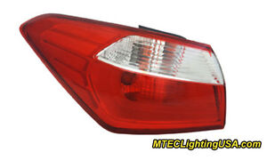 TYC Left Outer Side Tail Light Lamp Assembly for Kia Forte 2014-2015