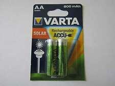 20x AA Solar 800mAh Akku Nickel-Hydrid HR6 Varta AR1327