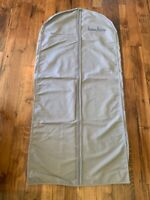 Auth Neiman Marcus Long Garment Travel Bag Front Zipper Unisex Suit Coat 59 X 27