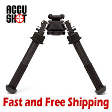 "Accu Shot Bt10 V8 Atlas Picatinny Rail Mount Bipod Adjustable 4.75"" - 9"" Height"
