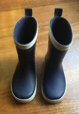 Seed Boys Gumboots, Blue, Rubber, Size 24
