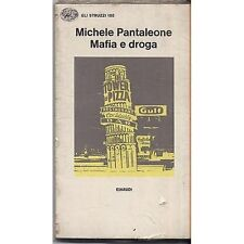MICHELE PANTALEONE - Mafia e droga - LIBRO SIGILLATO SEALED