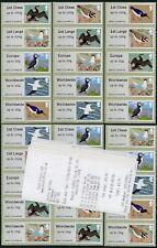 WINCOR TII BIRDS 4 IV ORIGINAL 2011 SET of 30 SG FS21-25 x 6  POST & GO