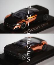 Norev Peugeot Concept Car Onyx Salon de Paris 2012 1/43 473891
