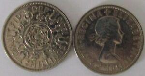 1953-1967 | Elizabeth II Two Shillings | Choose Your Year | Freepost + Discounts
