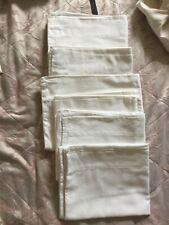 Bundle X 6 Egyptian Cotton White Pillowcases
