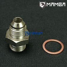 6AN to M14x1.5 Turbo Water Coolant Adapter Fitting GT25R~GT35R T25 T28 TD05 TD06