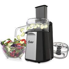 Oster® Oskar ™ 2-in-1 Salad Prep & Food Processor, Black FPSTFP4050 * NEW*