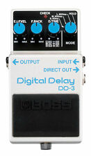 Boss DD-3 High-Quality Digital Delay Guitar Pedal