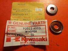 NOS NEW  FACTORY KAWASAKI KLX250 KDX420 KDX400 HEADLAMP WASHER QTY2 92022-4005