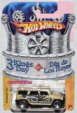 HOT WHEELS 3 KINGS DAY HUMMER H2 W+