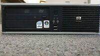 HP Compaq dc7800p Ultra Slim Desktop   2.33GHz Core 2 Duo E6550   80GB   Win 7