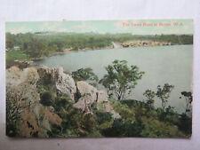 POSTCARD SWAN RIVER at BICTON WESTERN AUSTRALIA EXCELLENT CONDITION c1910