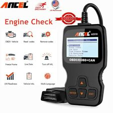 Automotive EOBD OBD2 Scanner Diagnostic Tool Car Check Engine Fault Code Reader