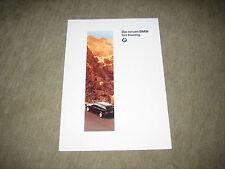 BMW 3er 320i 328i 318tds E36 Touring Prospekt Brochure von 1/1995, 22 Seiten